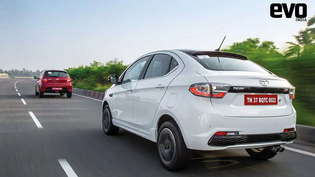 The small tweaks to the suspension transformed the handling of both the Tiago JTP and Tigor JTP.