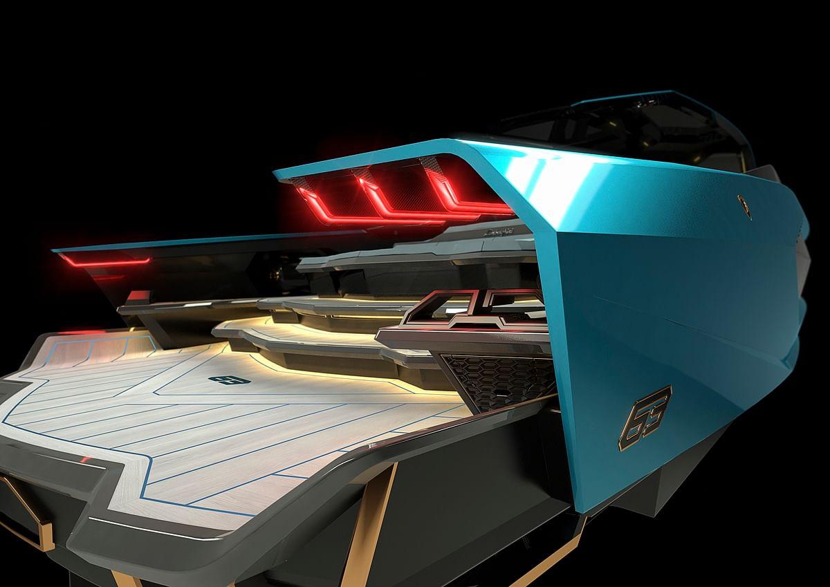 Inspired from Lamborghini supercars
