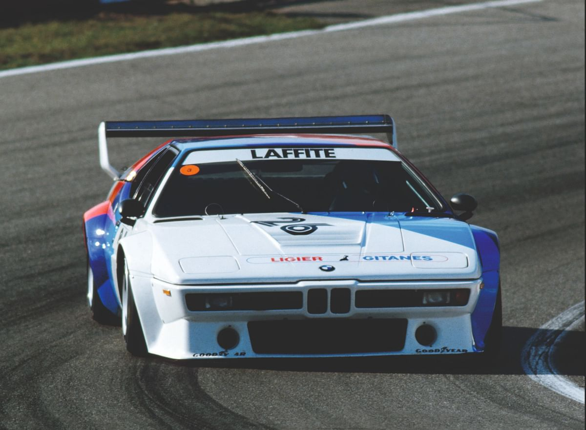 The subtle kidney grille on the M1 made it look even cooler