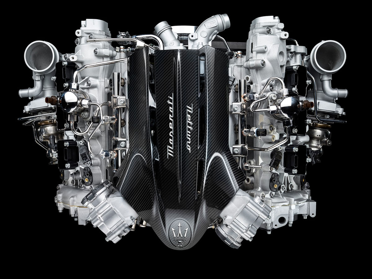 Maserati showcases Nettuno: an F1-based engine for road cars