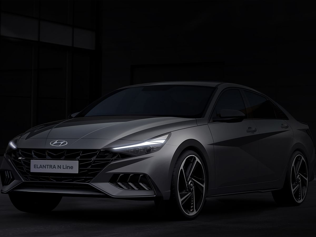 Hyundai gives us a sneak peek at the Elantra N Line