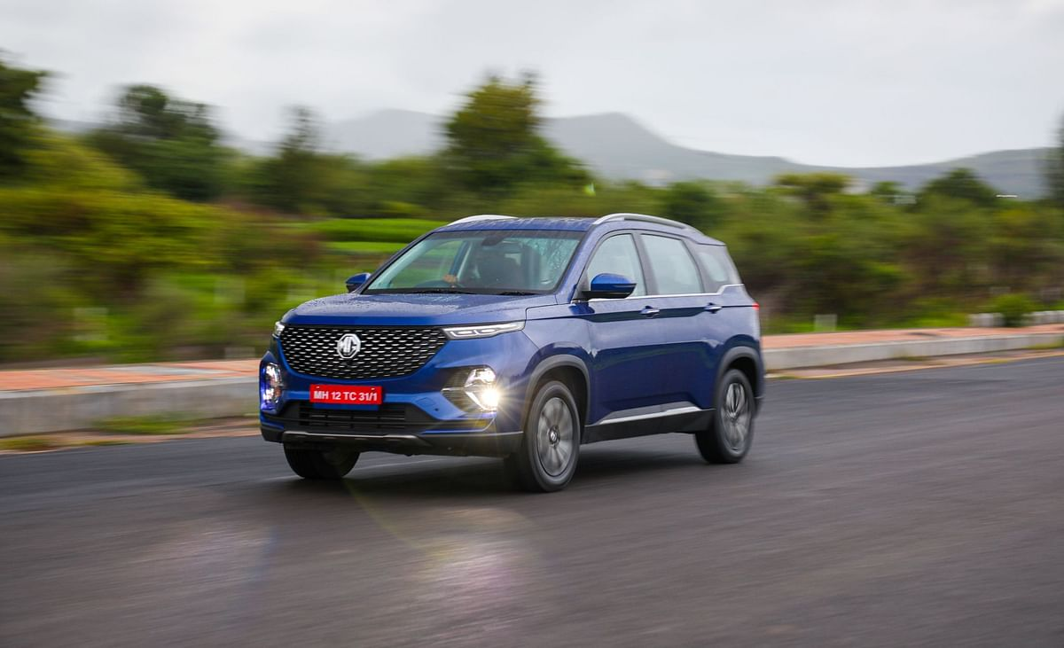 The MG Hector Plus is a six-seater version of the Hector