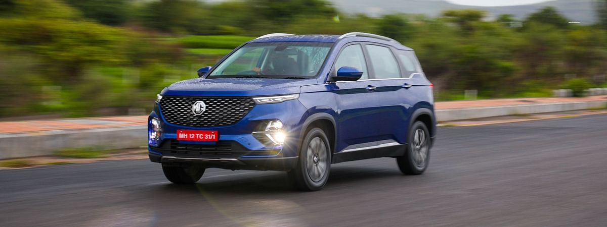The Hector Plus is MG Motor's latest launch in India
