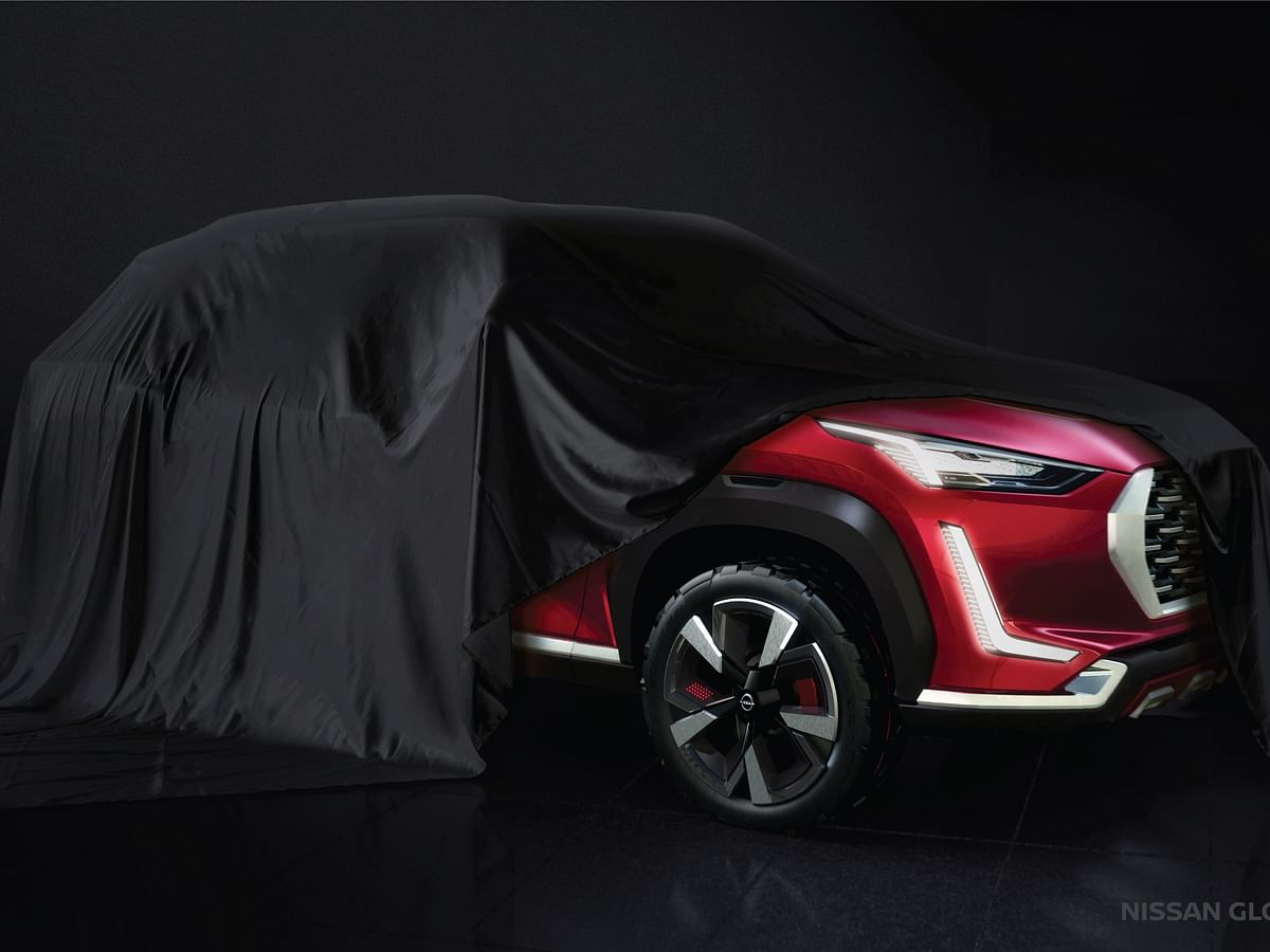 Nissan Magnite compact SUV teased ahead of July 16 global unveil
