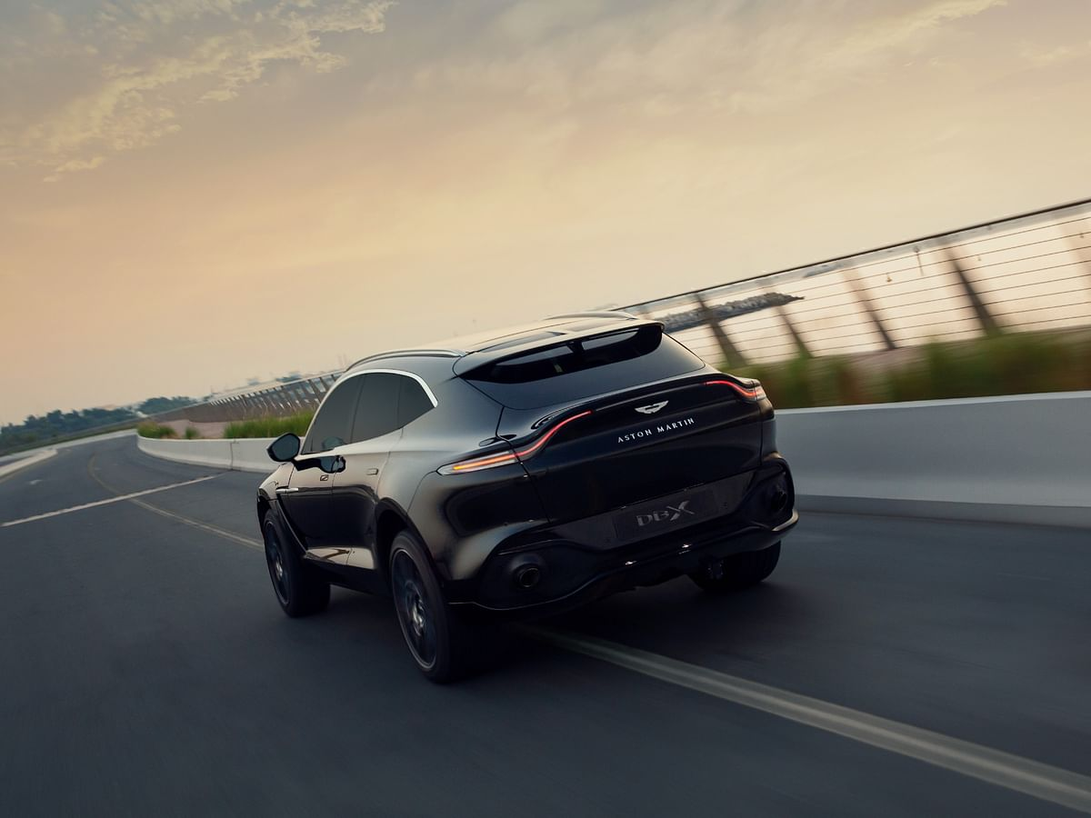 Perhaps the sportiest coupe-SUV rear out there