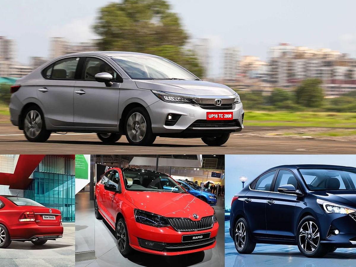 Honda City v Hyundai Verna v Skoda Rapid v Volkswagen Vento – C-Segment sedan comparo