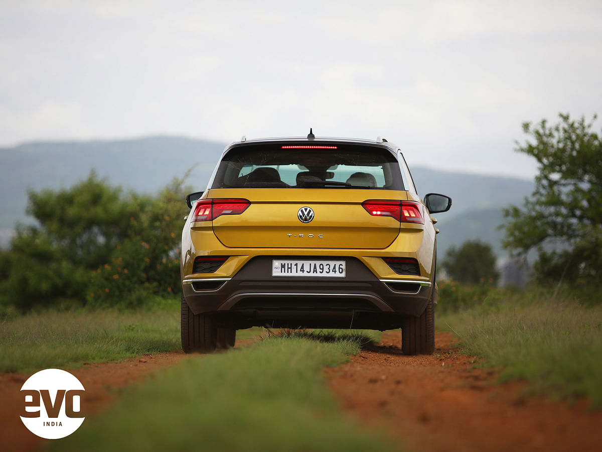 The rear is possibly the most flattering angles for the T-Roc