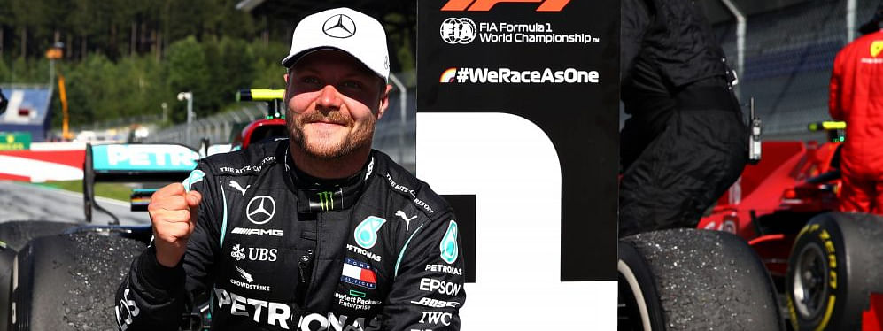Valtteri Bottas bagged the win at the Red Bull Ring, Austria