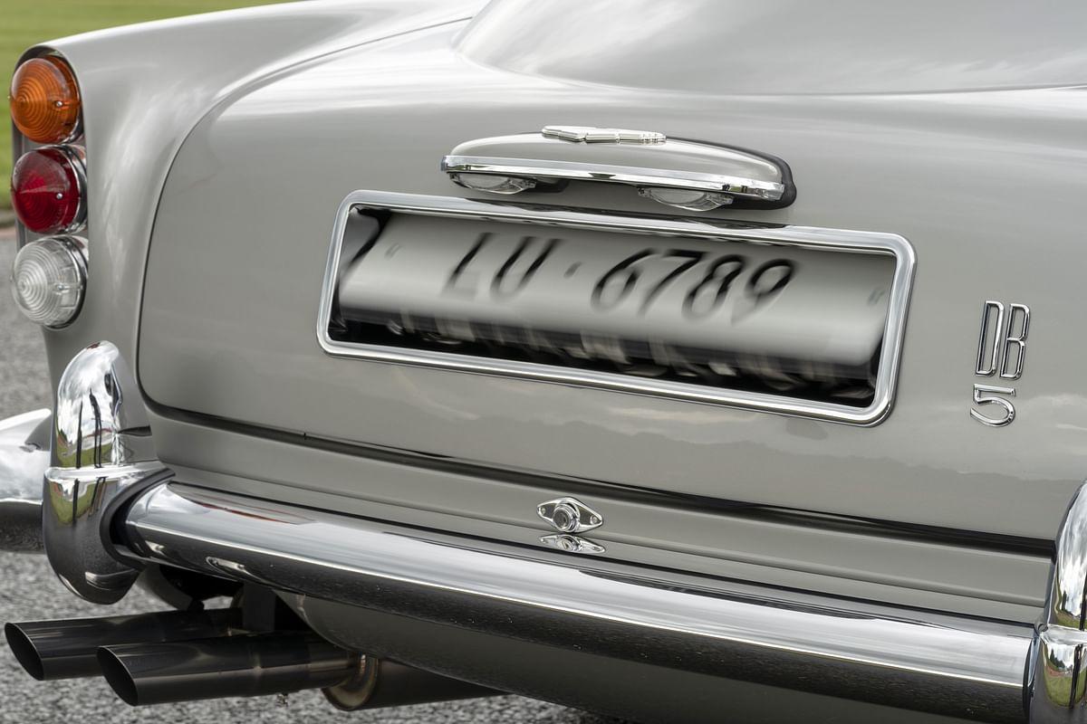 Revolving number plates