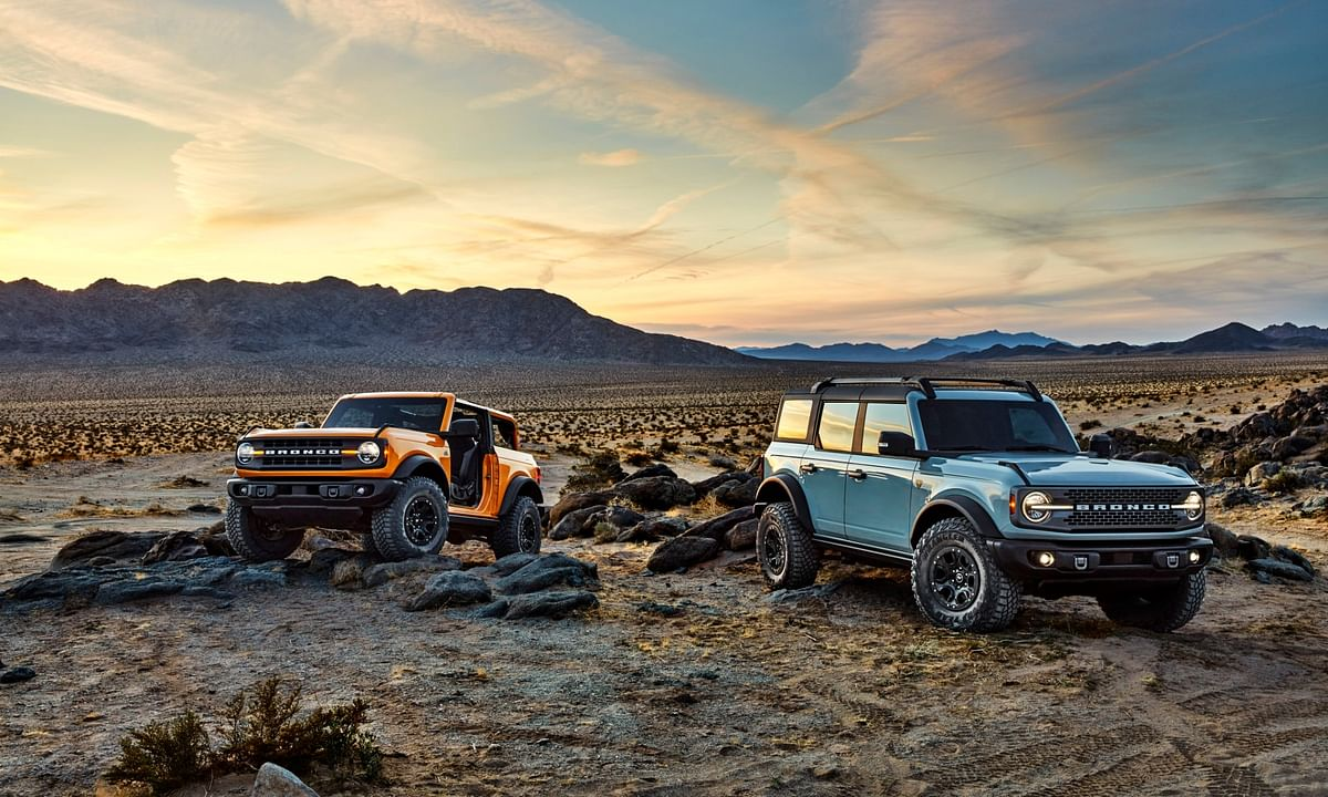 Ford unveils the Bronco mid-size SUV in the USA