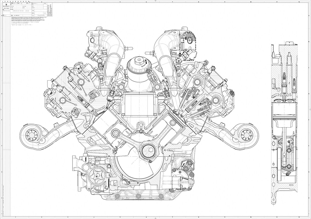 The Nettuno engine has a specific output of a whopping 207bhp/litre