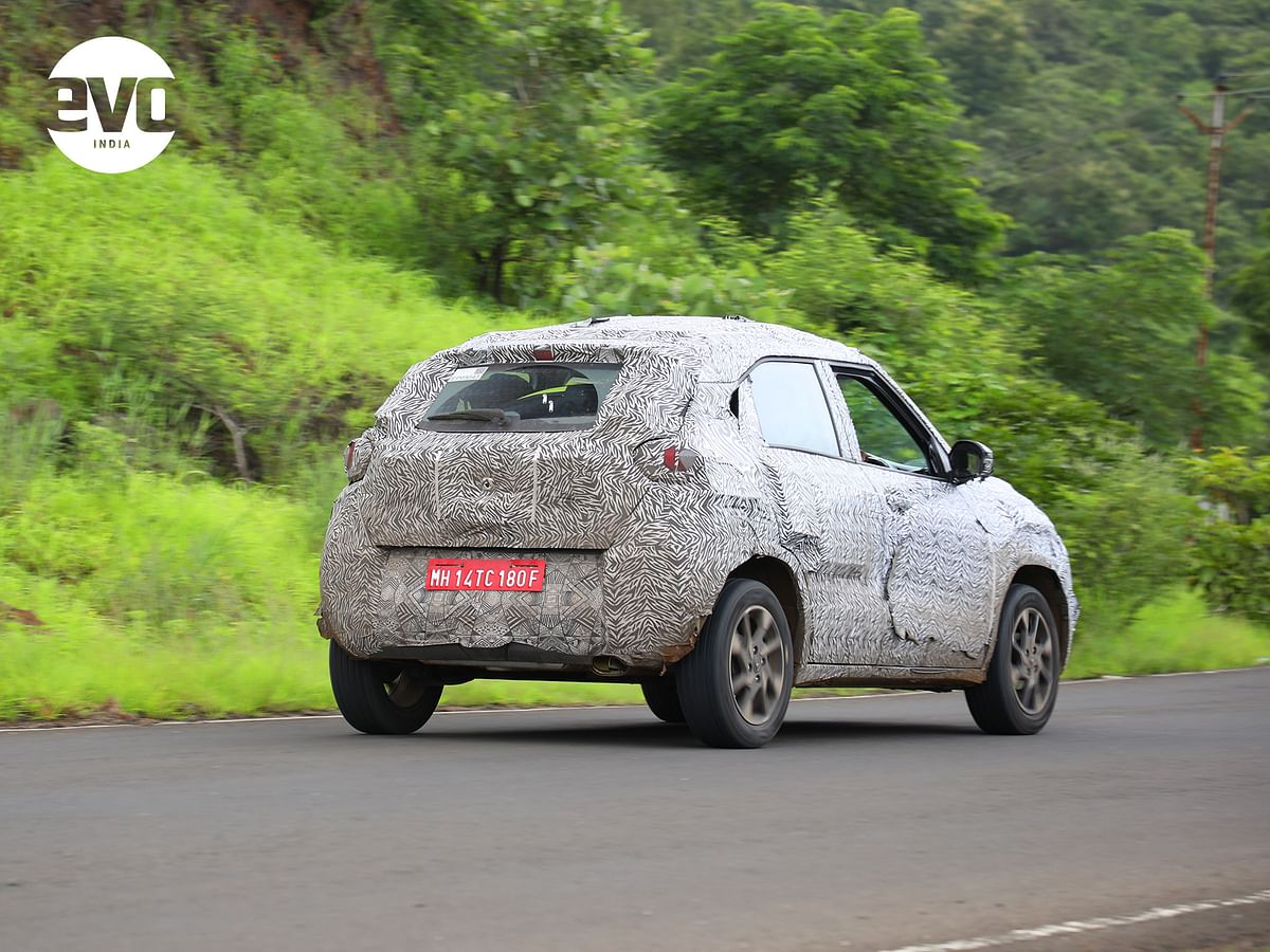 Not a big departure from what we saw at the Auto Expo 2020