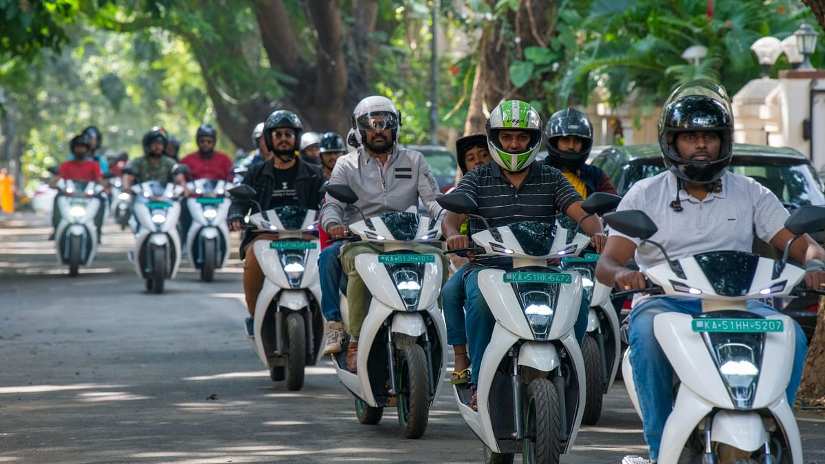 Ather Energy joins hands with CredR for a two-wheeler exchange program