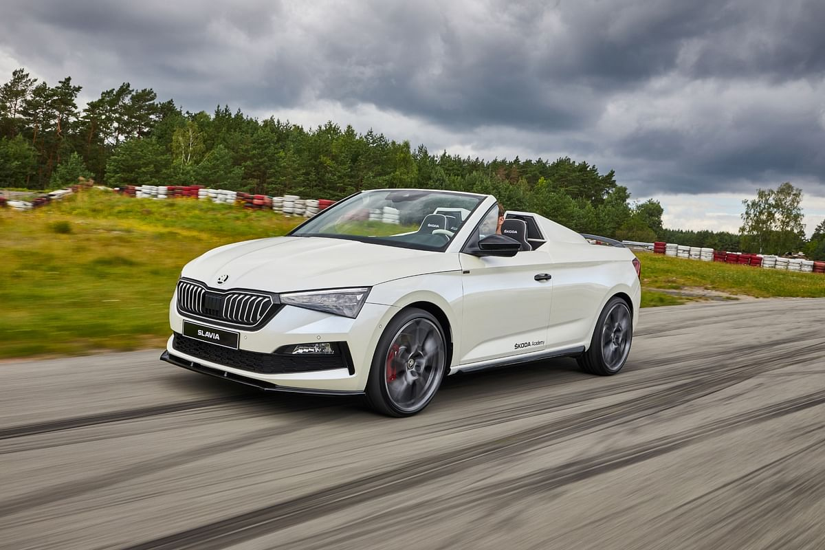 Slavia is the name for Skoda's latest student car