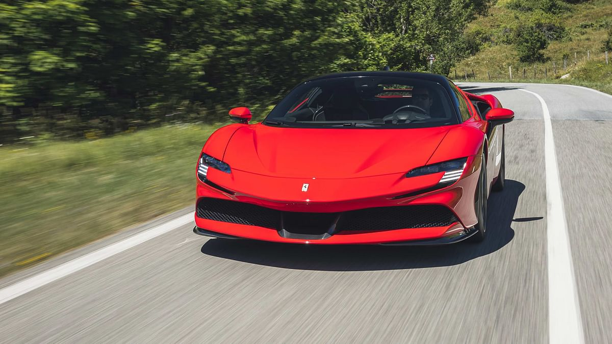 The SF90 Stradale is an extraordinary driving machine