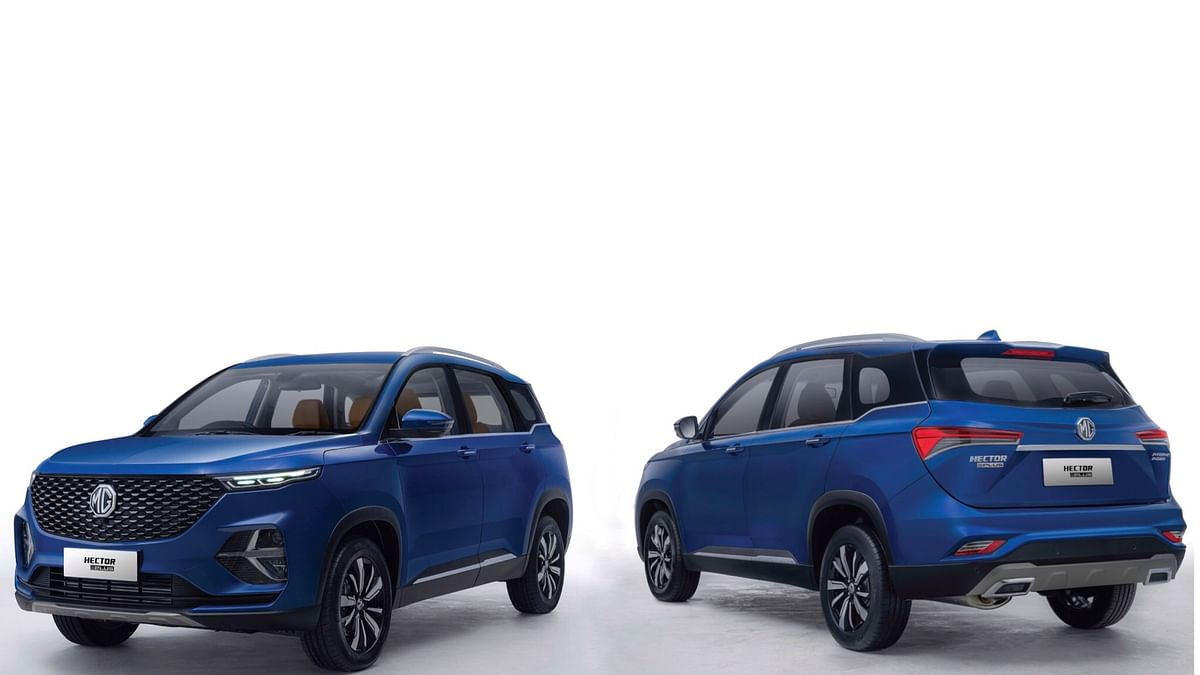 MG Motors opens up booking for the Hector Plus
