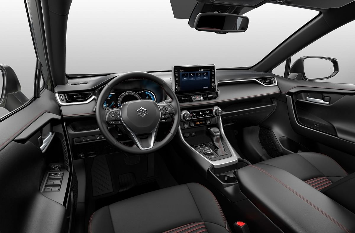 Understated, well laid-out interiors a typical Suzuki trait