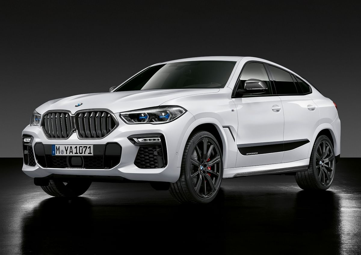 The X6 evolved over the years