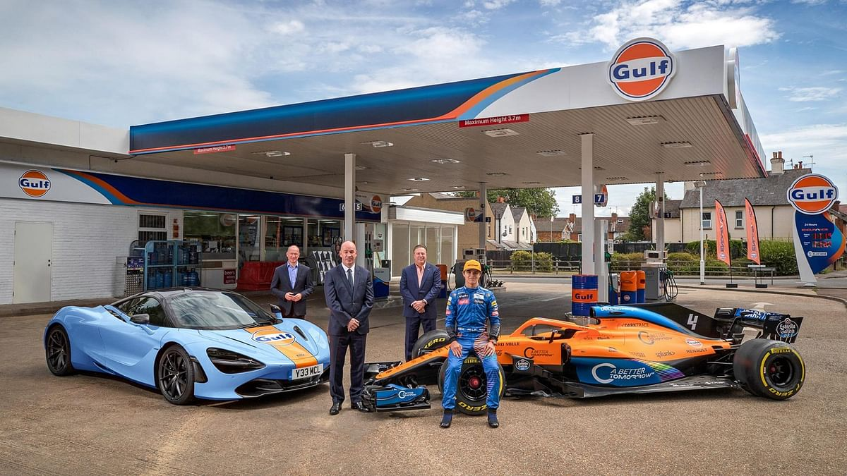 Gulf Oils recently renewed its partnership with McLaren
