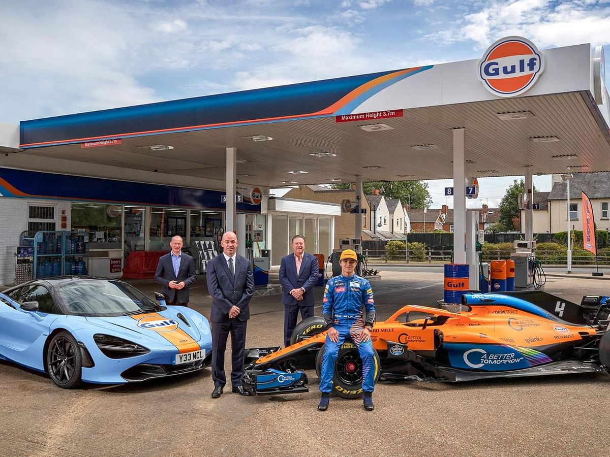 McLaren to get into a multi-year strategic partnership with Gulf Oil