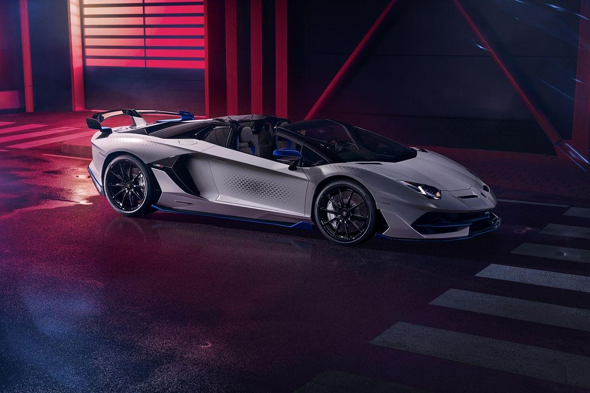 Lamborghini teases the super-rare Aventador SVJ Xago