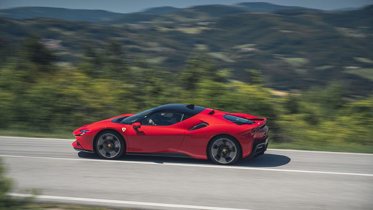 It marks a return to a mid-engined Ferrari range-topper; something last seen with the F512M