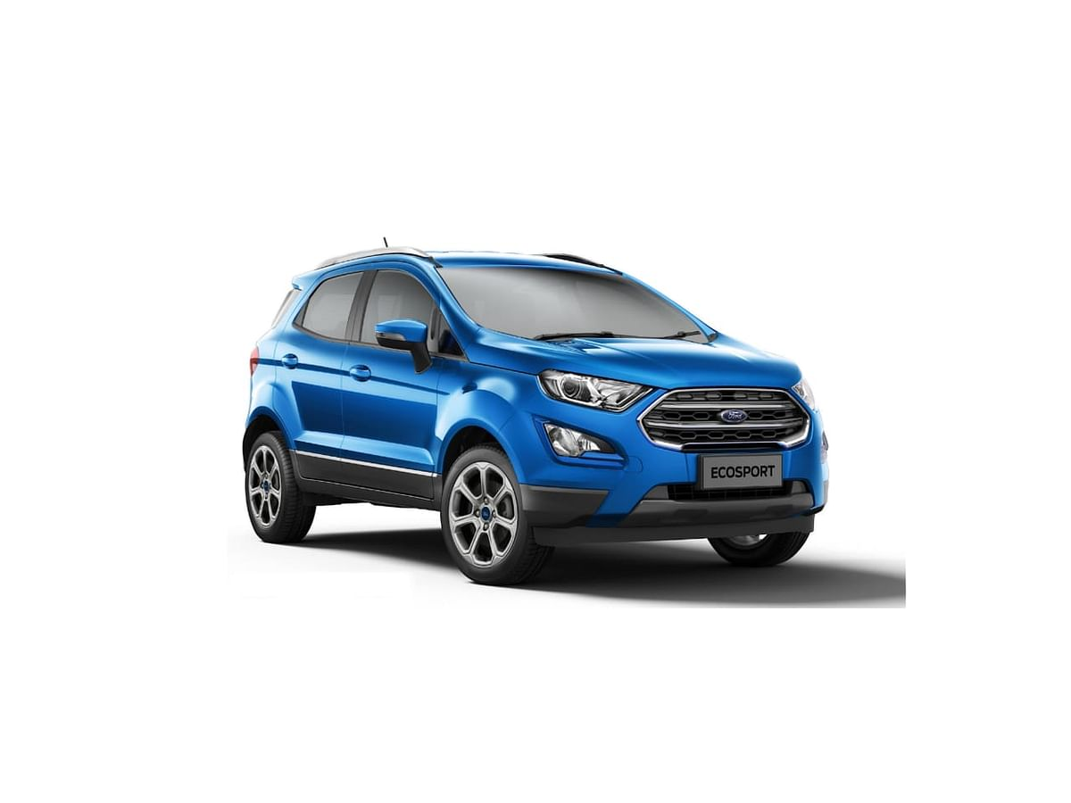 Ford EcoSport Titanium trim gets an automatic gearbox