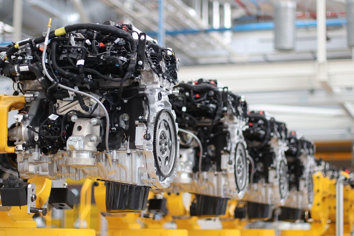 The in-line-six Ingenium diesel engine features mild-hybrid technology