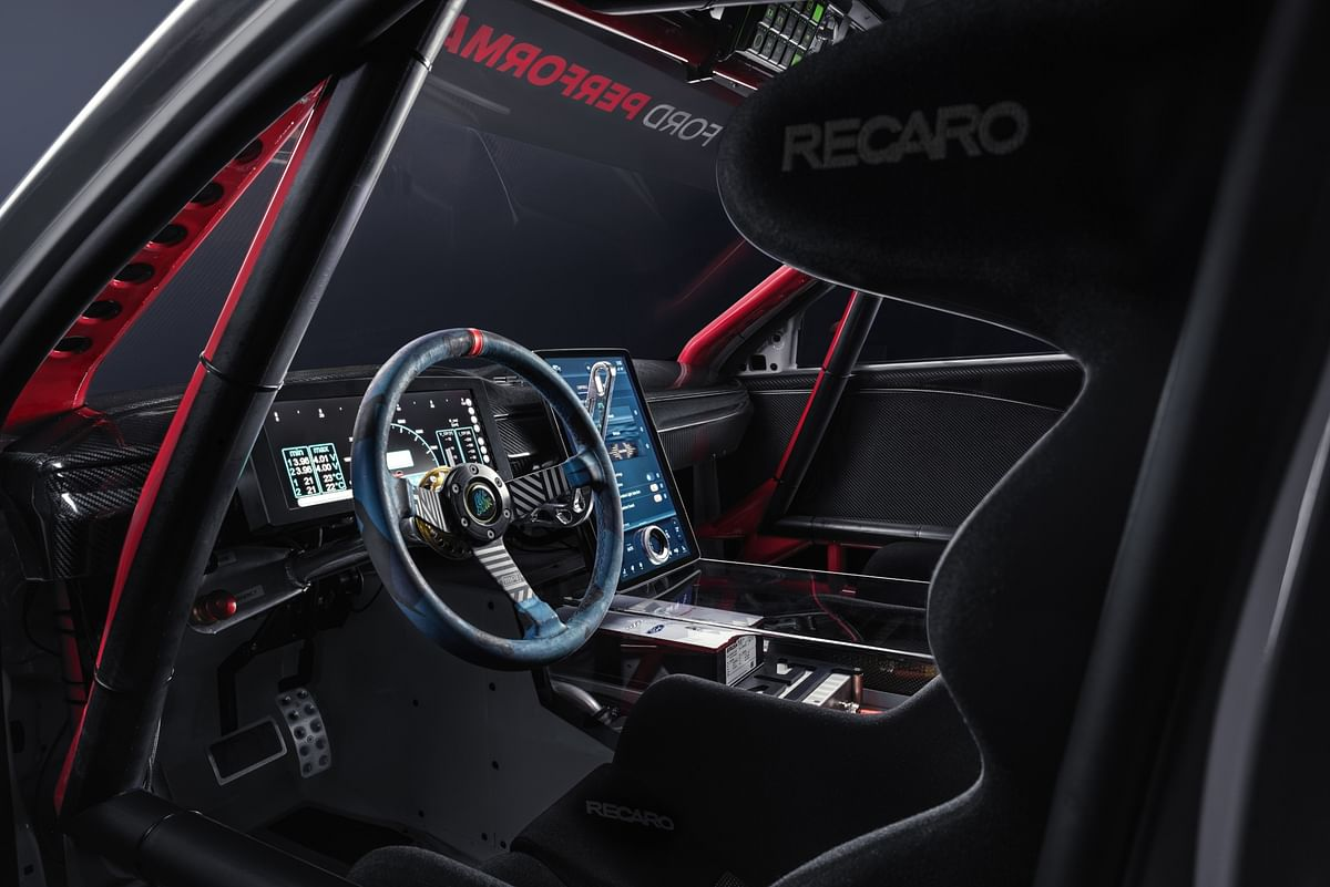 Roll cage and sport seats differentiate this speed monster from the environmentally conscious runabout