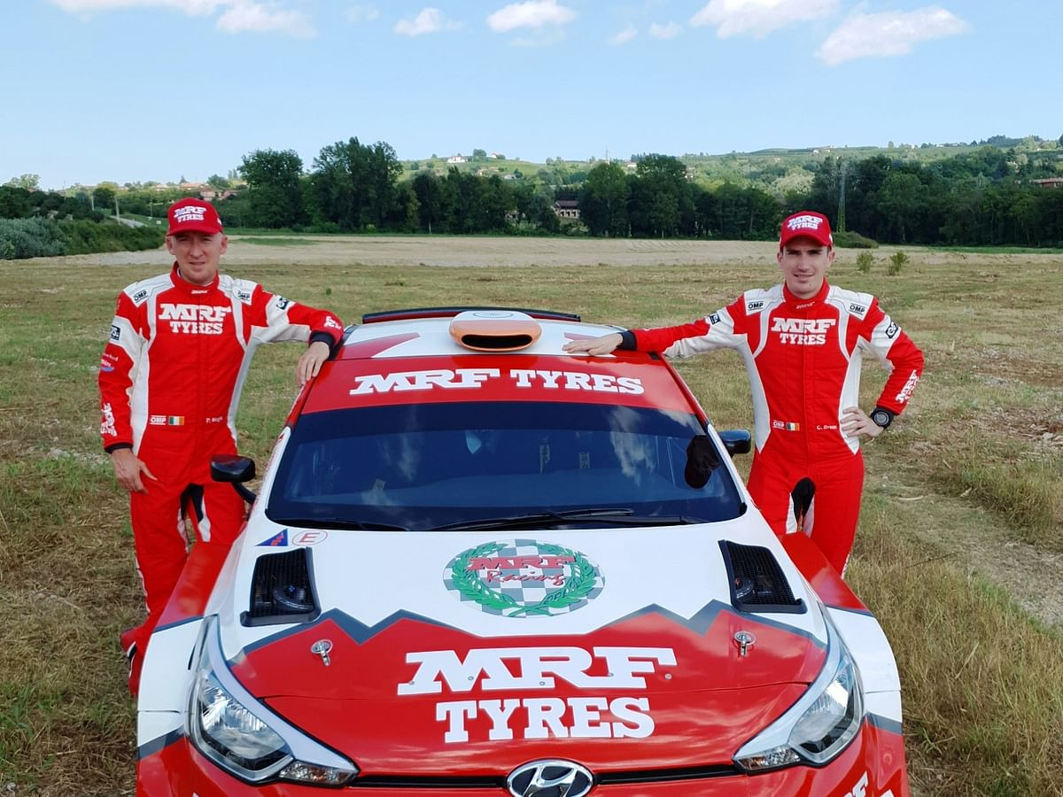 Team MRF Tyres reveal 2020 rally plans