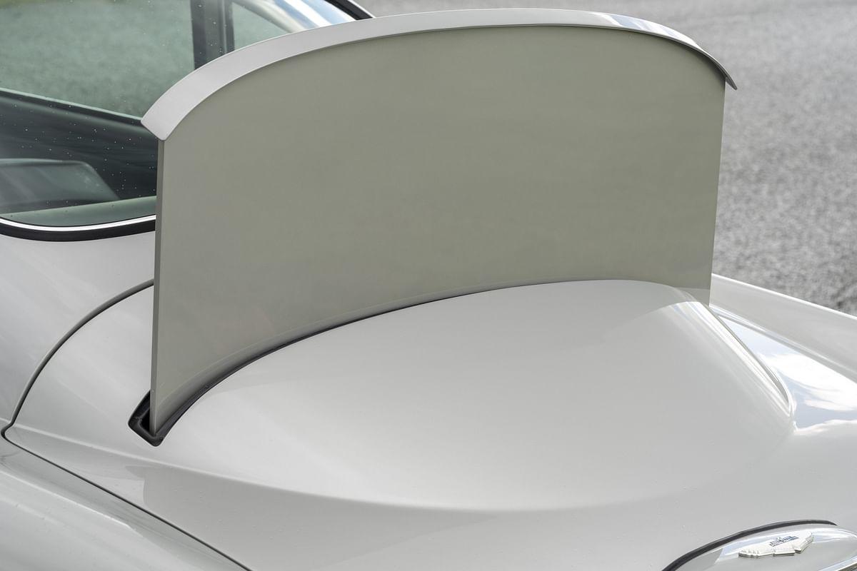 Bullet resistant rear shield