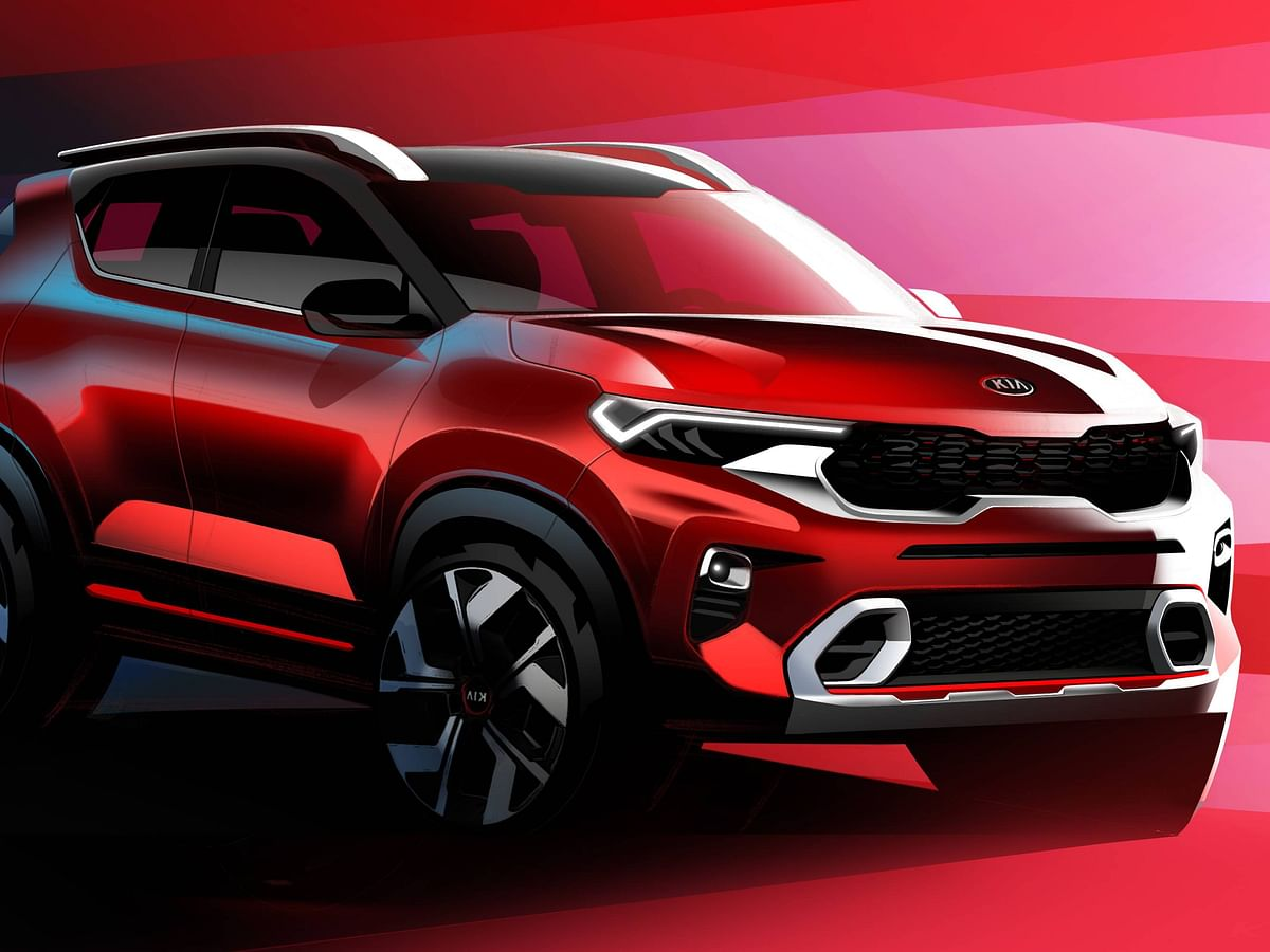 Kia reveals interior details of the Sonet