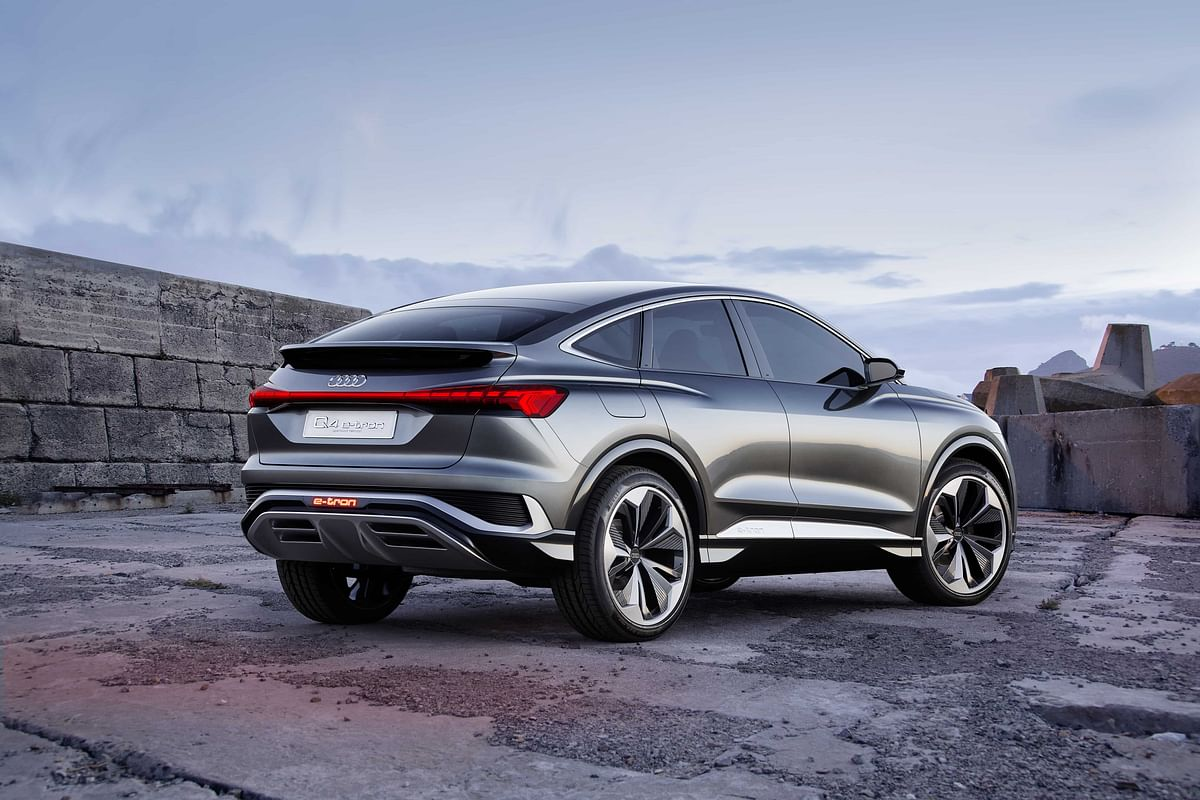 Sportback variant looks very well proportioned, and purposeful