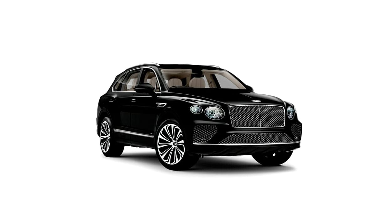 Bentayga the limousine of SUVs