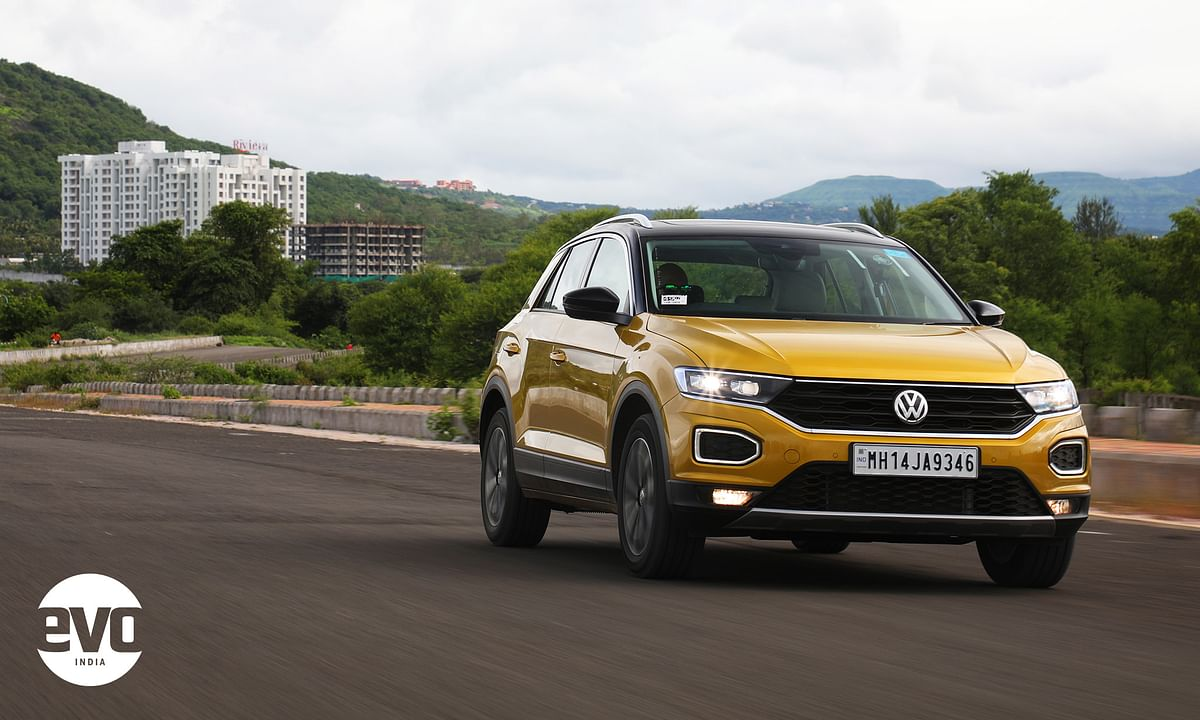 The T-Roc is an SUV that breaks away from the conventional SUV styling