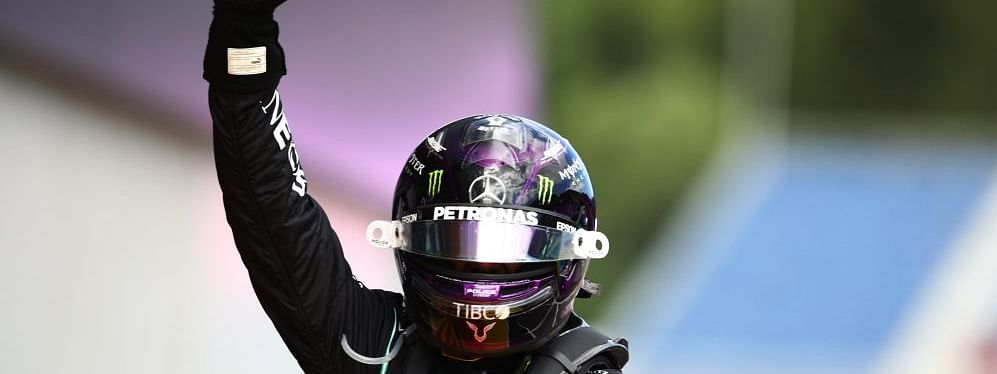 Hamilton's victory sees him avenge last week's disappointing result