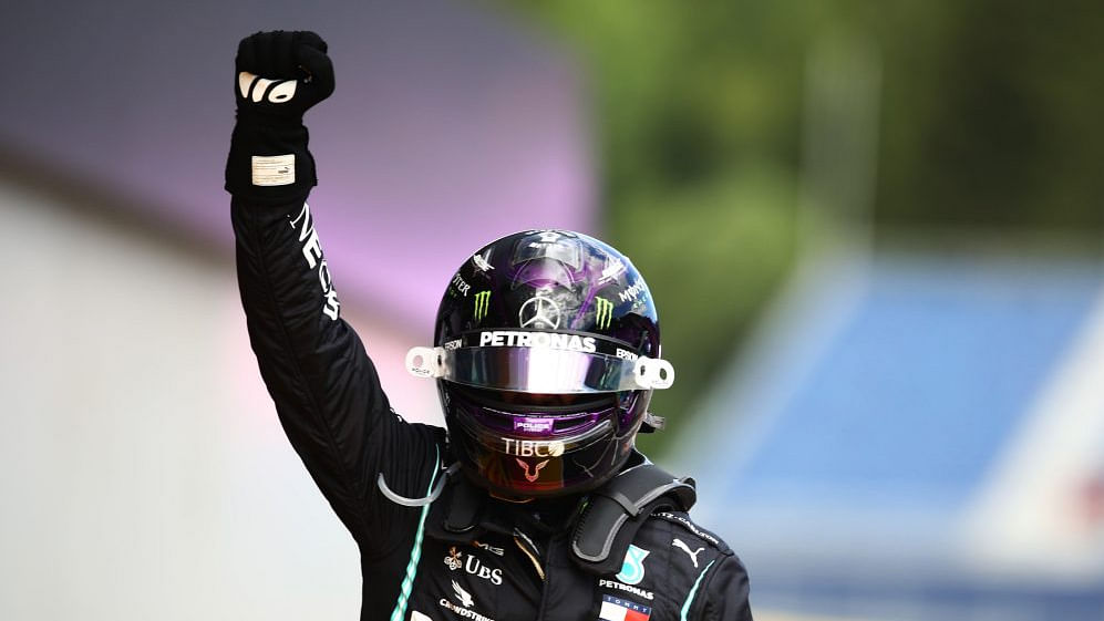 Hamilton leads Mercedes' one-two win at the Red Bull Ring