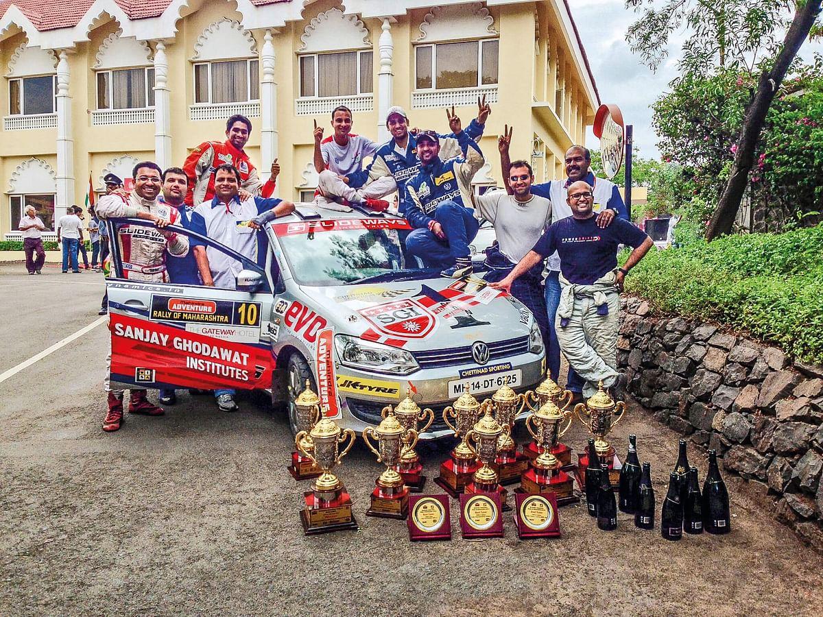 Slideways industries rally team