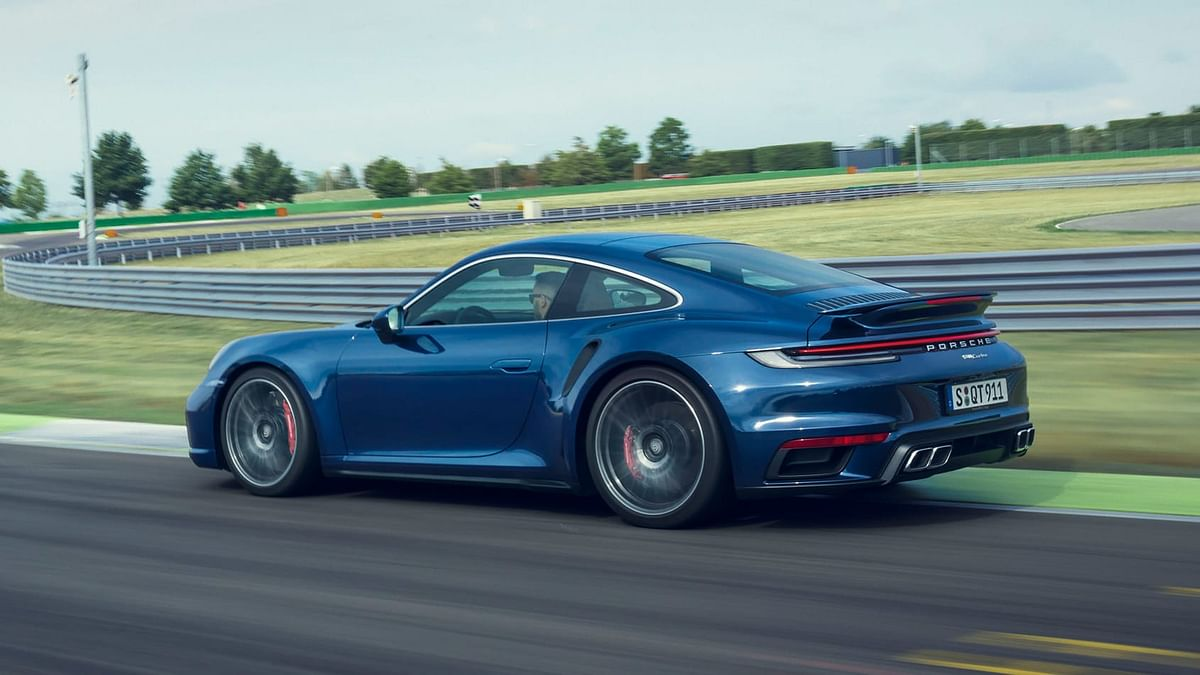 The Turbo keeps hold of the clever dynamic rear wing and front splitter too
