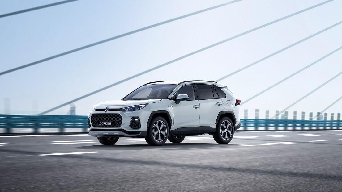 Suzuki unveils the swanky looking ACross SUV