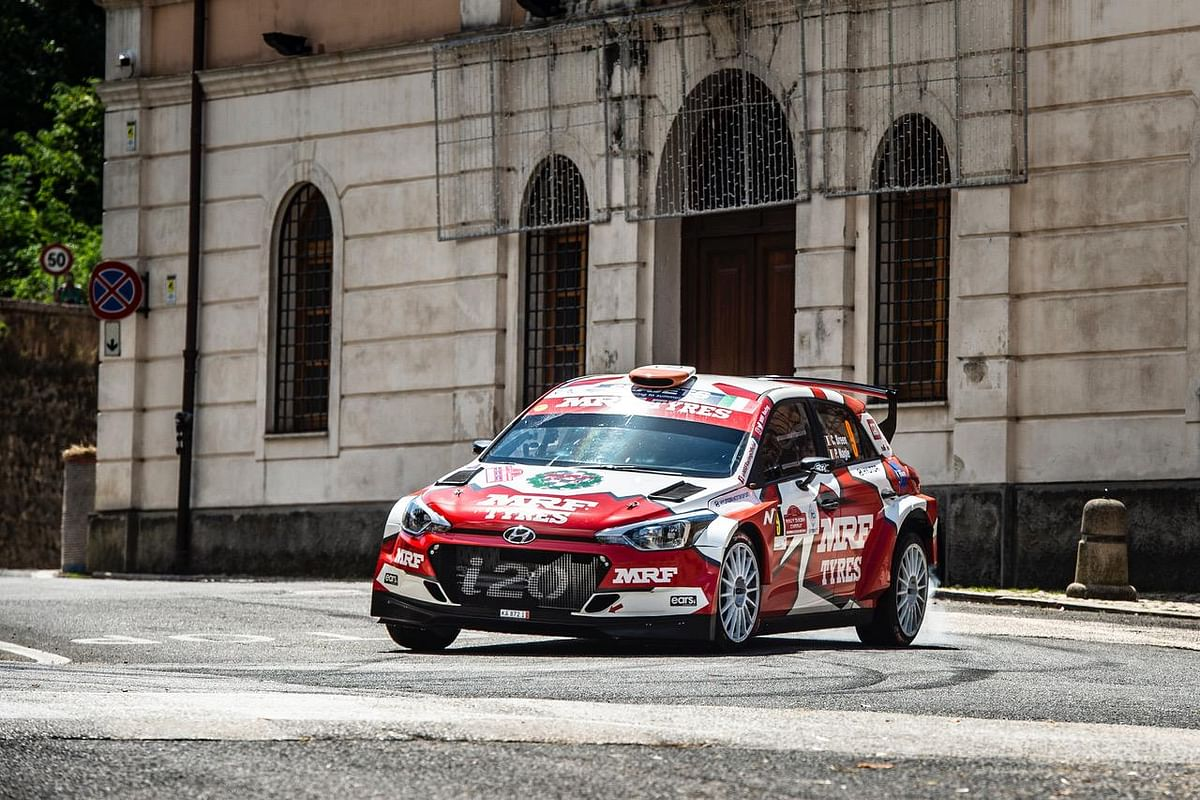 Craig Breen finishes fourth in Rally de Roma Capitale