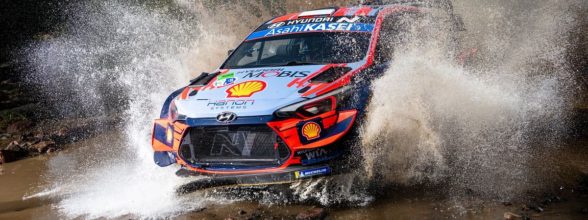 Ott Tanak  during the Mexico Rally in Leon, Mexico on March 12, 2020