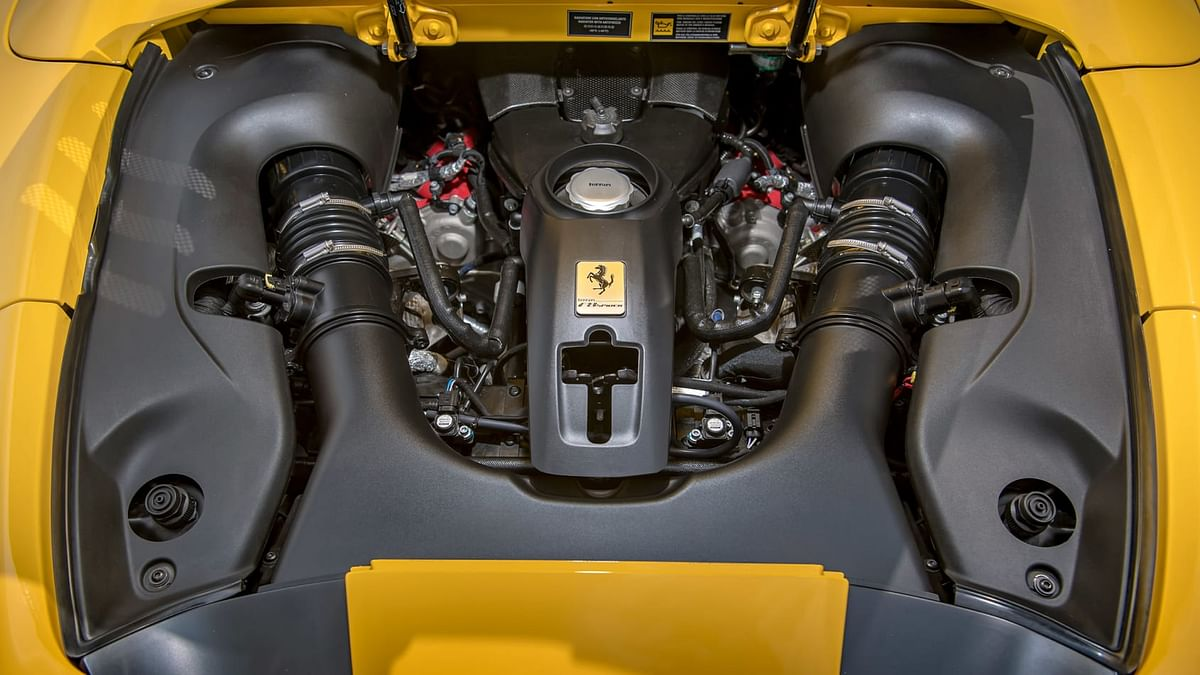 Award-winning 3.9-litre twin-turbocharged V8