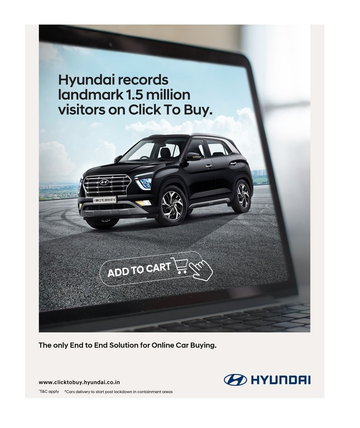 Hyundai has received an outstanding response to its 'Click To Buy' programme