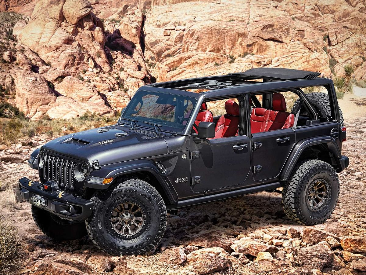 Jeep unveils the Wrangler Rubicon 392 concept with a V8 engine