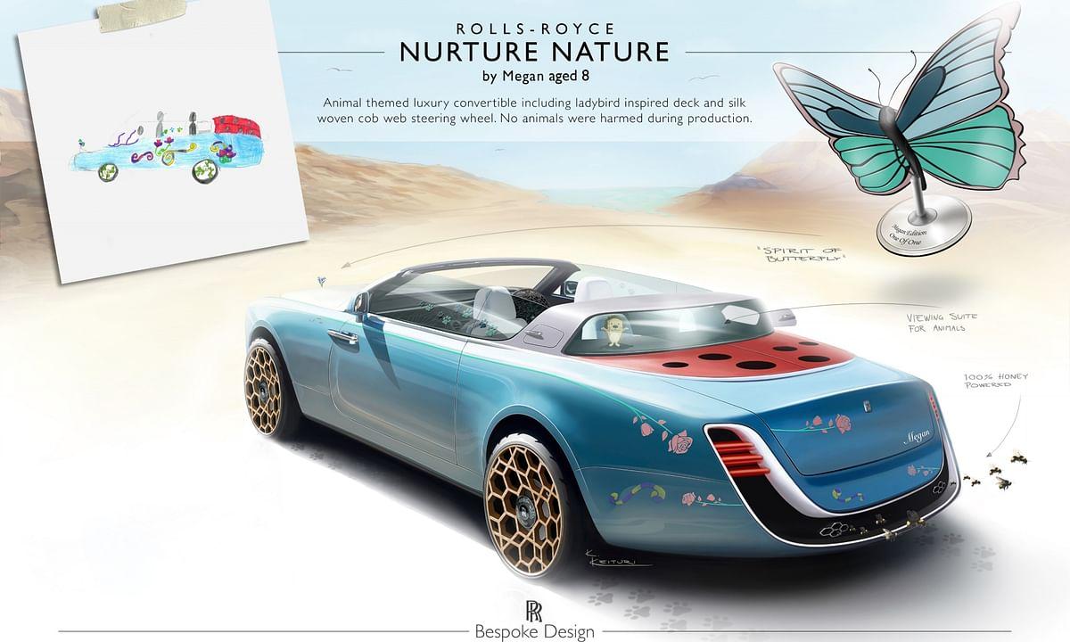 The Nurture Nature design, by 8-year-old Megan
