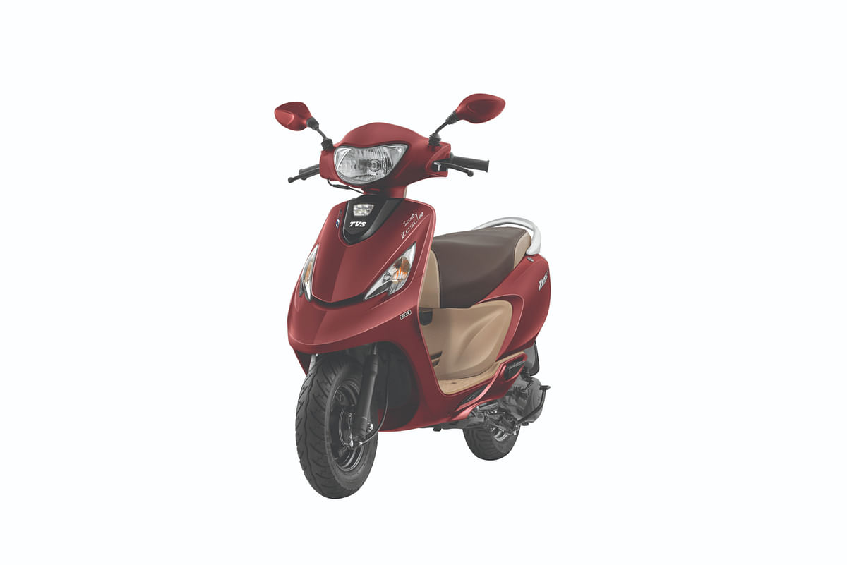 TVS launches the BS6-ready Zest 110 at Rs 58,460