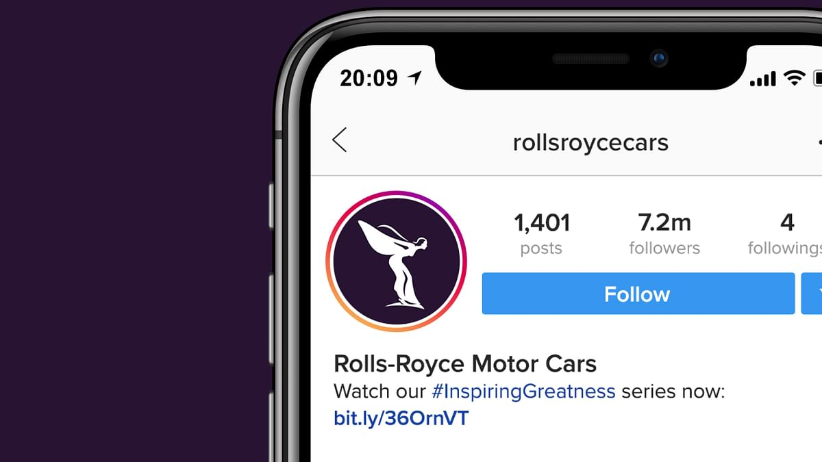 The new visual branding will be used all over Rolls-Royce's digital presence