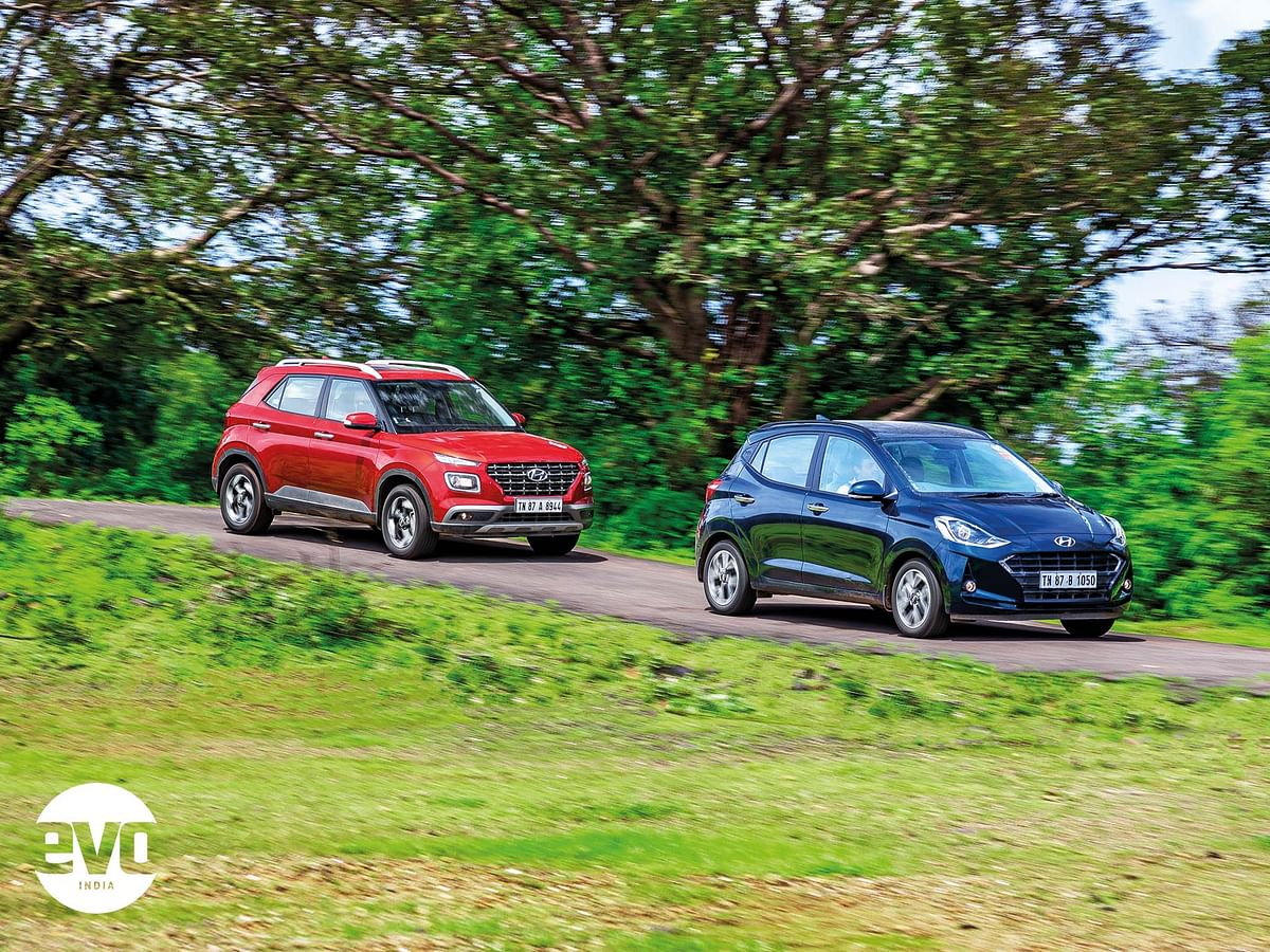 Ride and handling of the Grand i10 Nios has vastly improved
