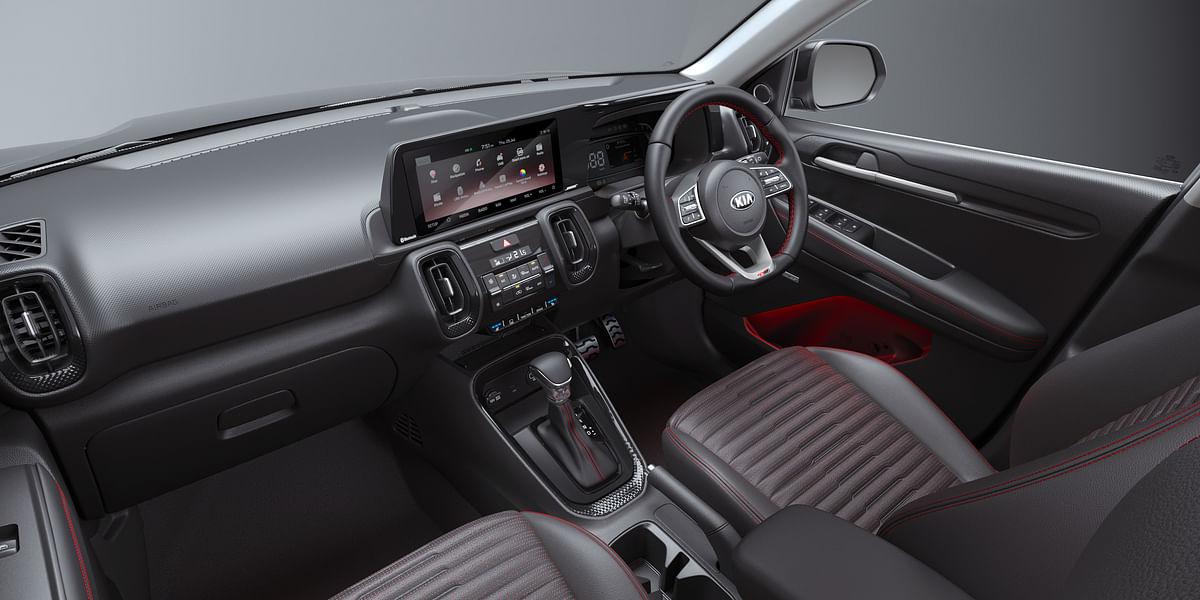 Premium cabin of the Kia Sonet